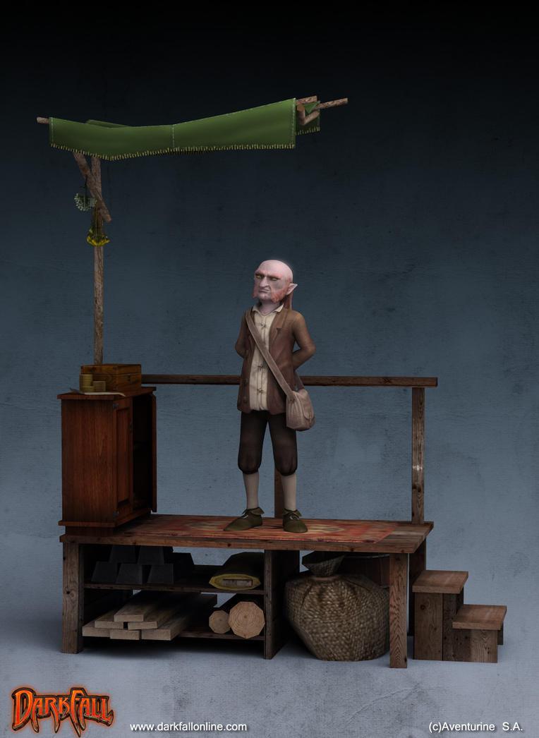 Gnome Vendor by conkrys