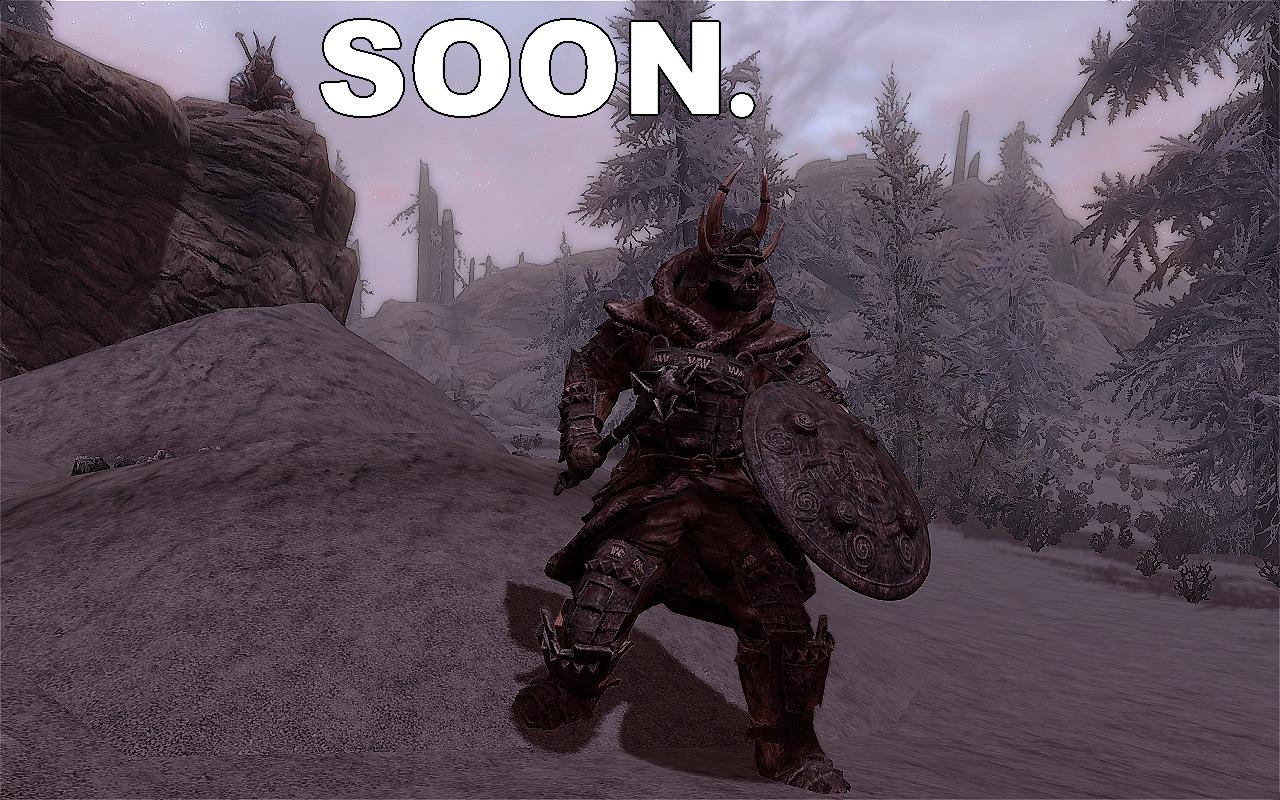 Skyrim - Skaal Heavy Armor mod - Coming Soon by Alexe-Arts