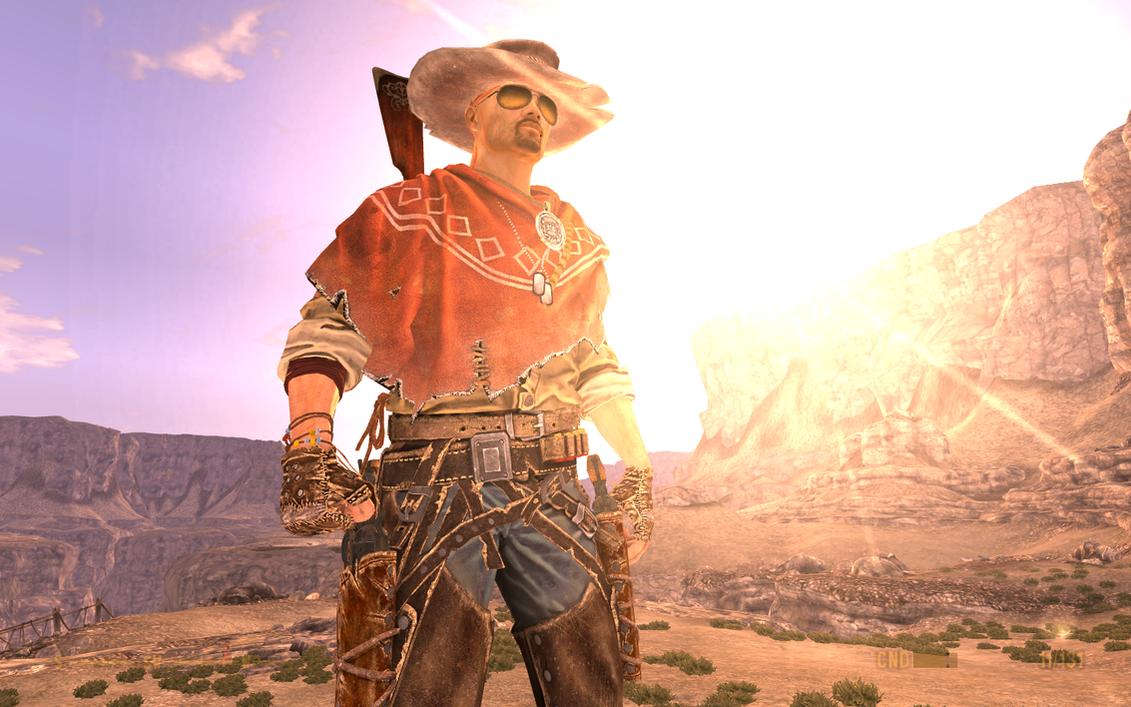 new vegas gunslinger outfit