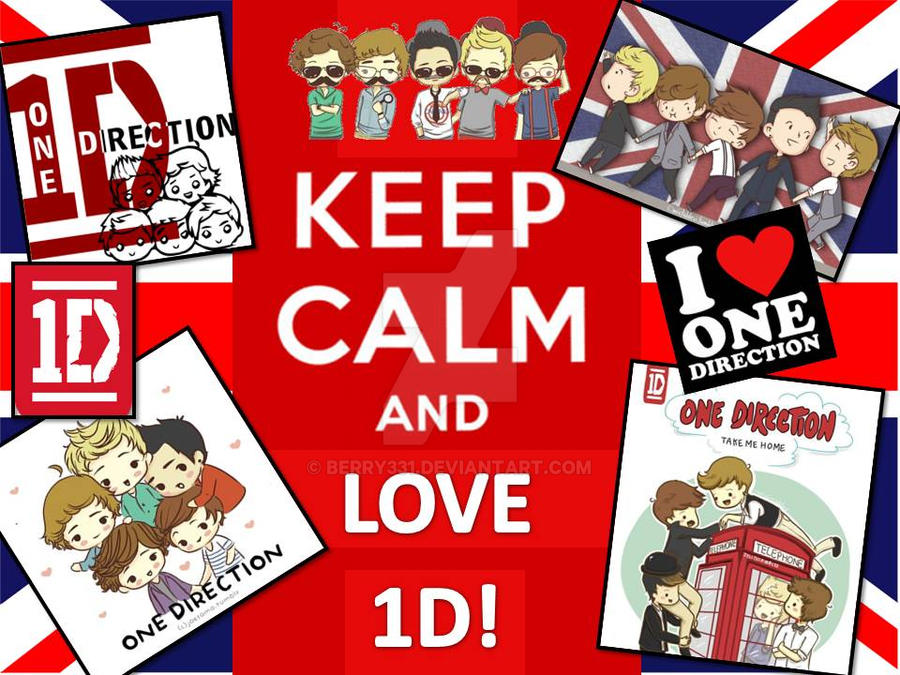 Keep Calm And Love 1D By Berry331