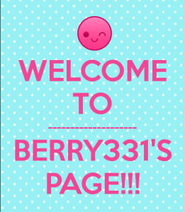 berry331's Profile Picture