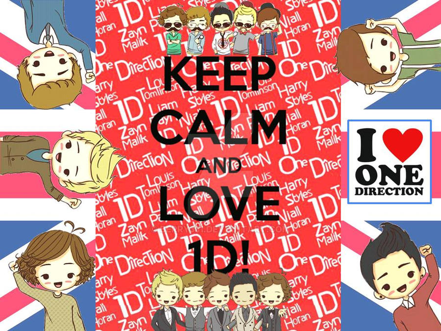Keep Calm And Love One Direction By Berry331