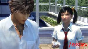 TBV - Ling and Shin Kamiya by Tekkenka