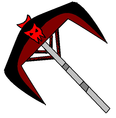 My scythe form by demonsbloodlustX