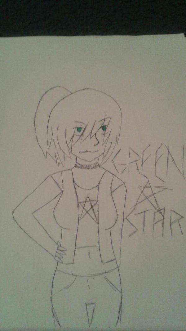Green Star by demonsbloodlustX