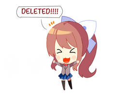 DELETED! by MonikaTheHackerWaifu