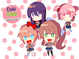 Doki dok literature club! by MonikaTheHackerWaifu