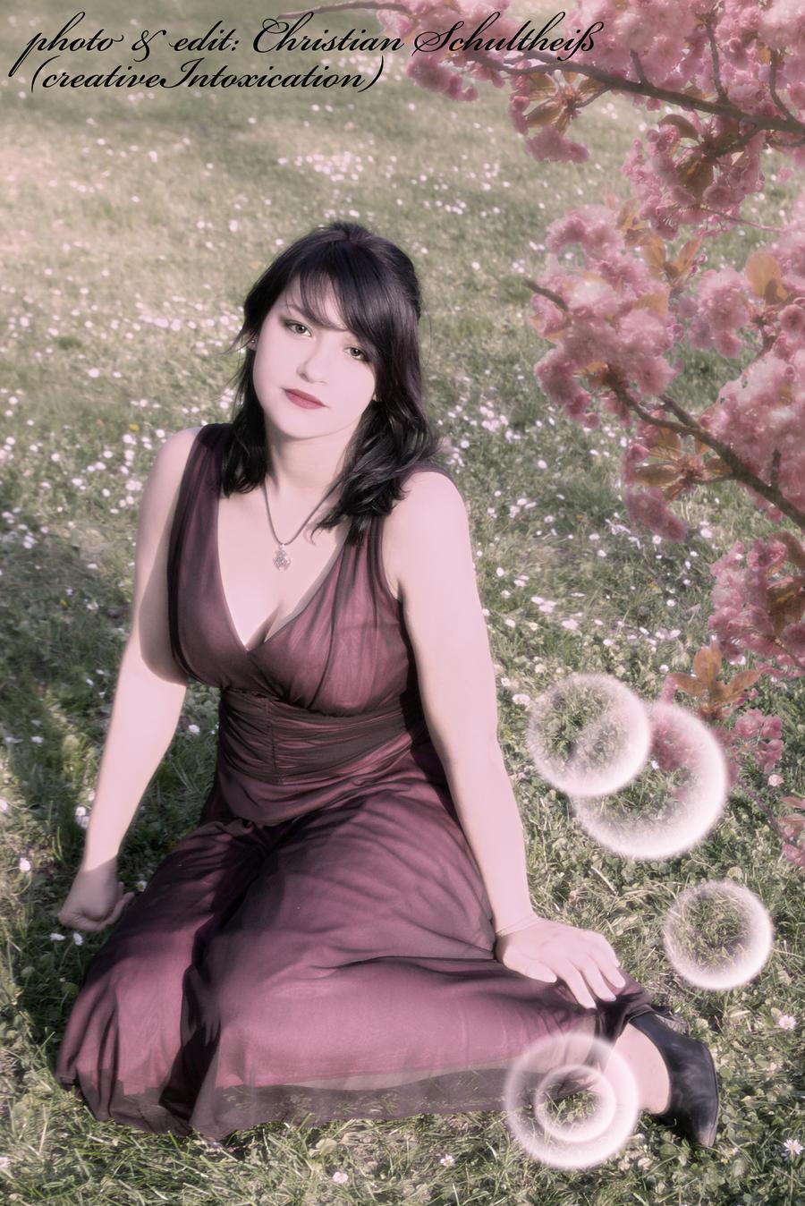 romantic dreamy girl by creativeIntoxication