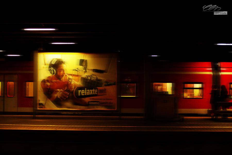 TrainStation by creativeIntoxication