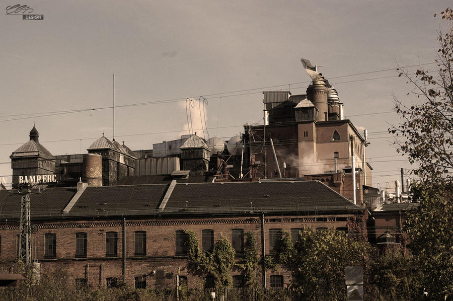 industrial building - malt factory 1 by creativeIntoxication