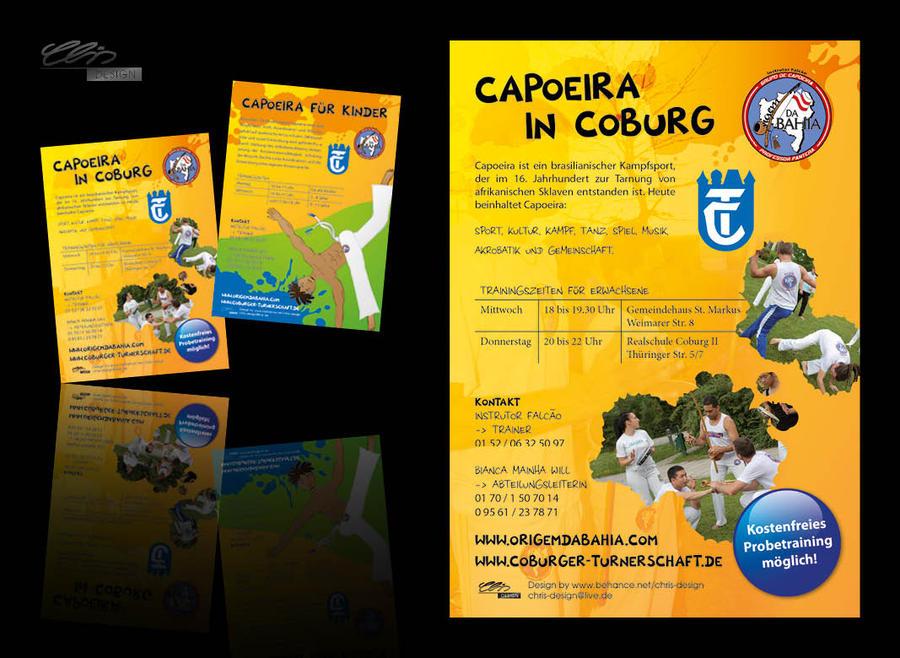 CapoeiraTrainingFlyer2012 by creativeIntoxication