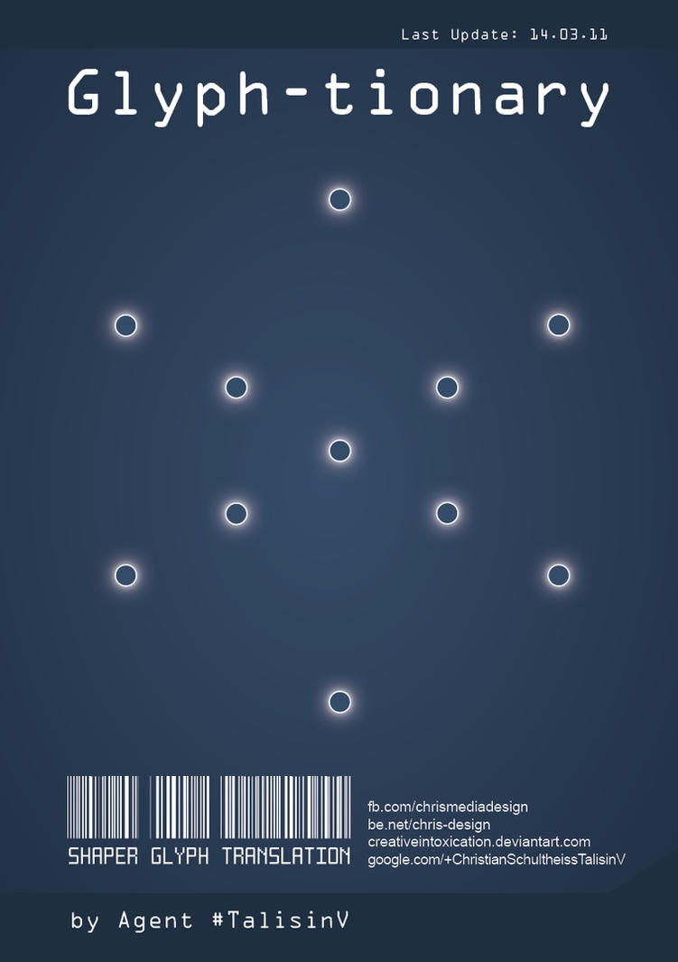 glyph-tionary by creativeIntoxication