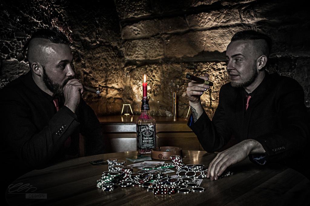 pokerfaces by creativeIntoxication