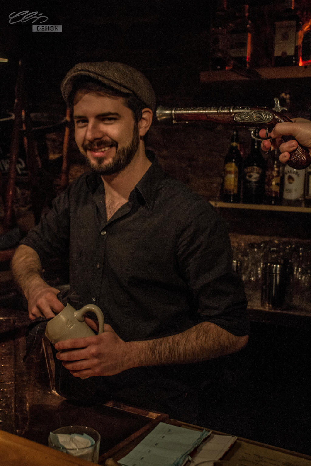 barkeepin.outtake by creativeIntoxication
