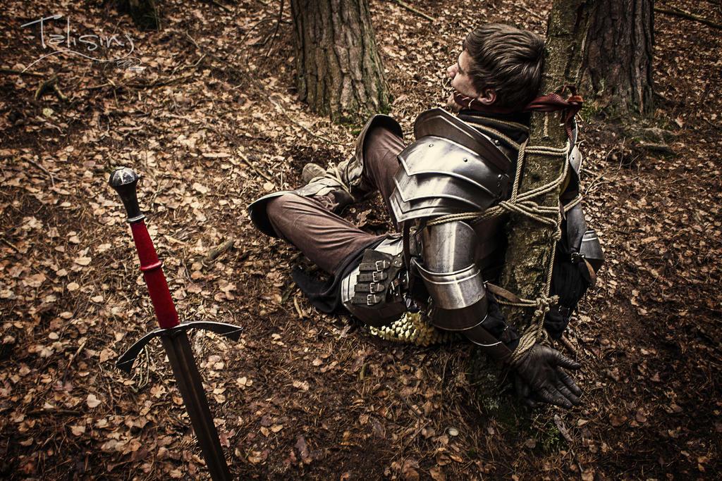 captured.knight by creativeIntoxication