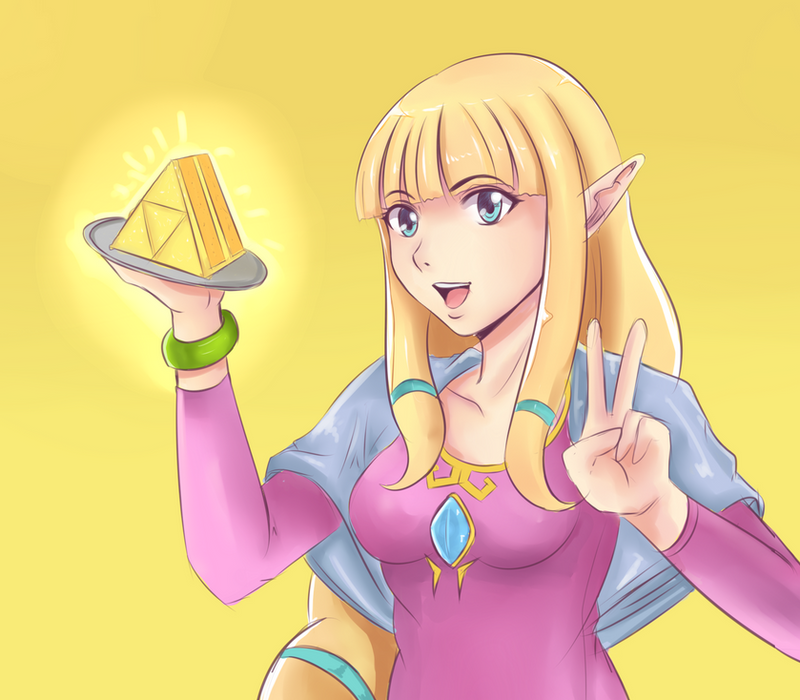 Zelda princess happy birthday by angelox27 on deviantart for Cuisine zelda