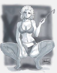 Zelda breath of the wild sketch 3