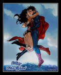 Superman and Wonder Woman - Starts A New Year