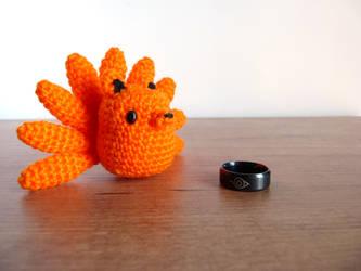 Snailboo] P5.2 | Kakashi The Last chibi Doll | Crochet Tutorial ... | 250x333