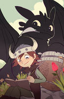 HOW TO TRAIN YOUR DRAGON by kyutover