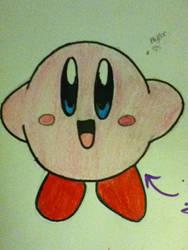 Kirby! by knucklejoerocks