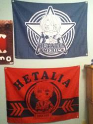 Hetalia flags by knucklejoerocks