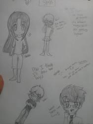 OC doodles~ by knucklejoerocks