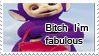 Tinky Winky stamp by MiharuyYoite