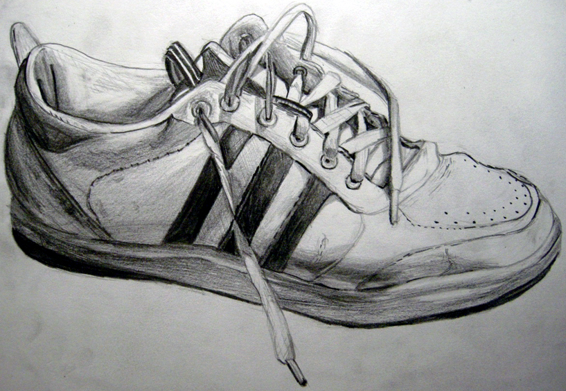 Shoes Heels Drawing