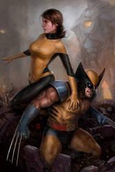 Kitty And Logan VS The Sentinels