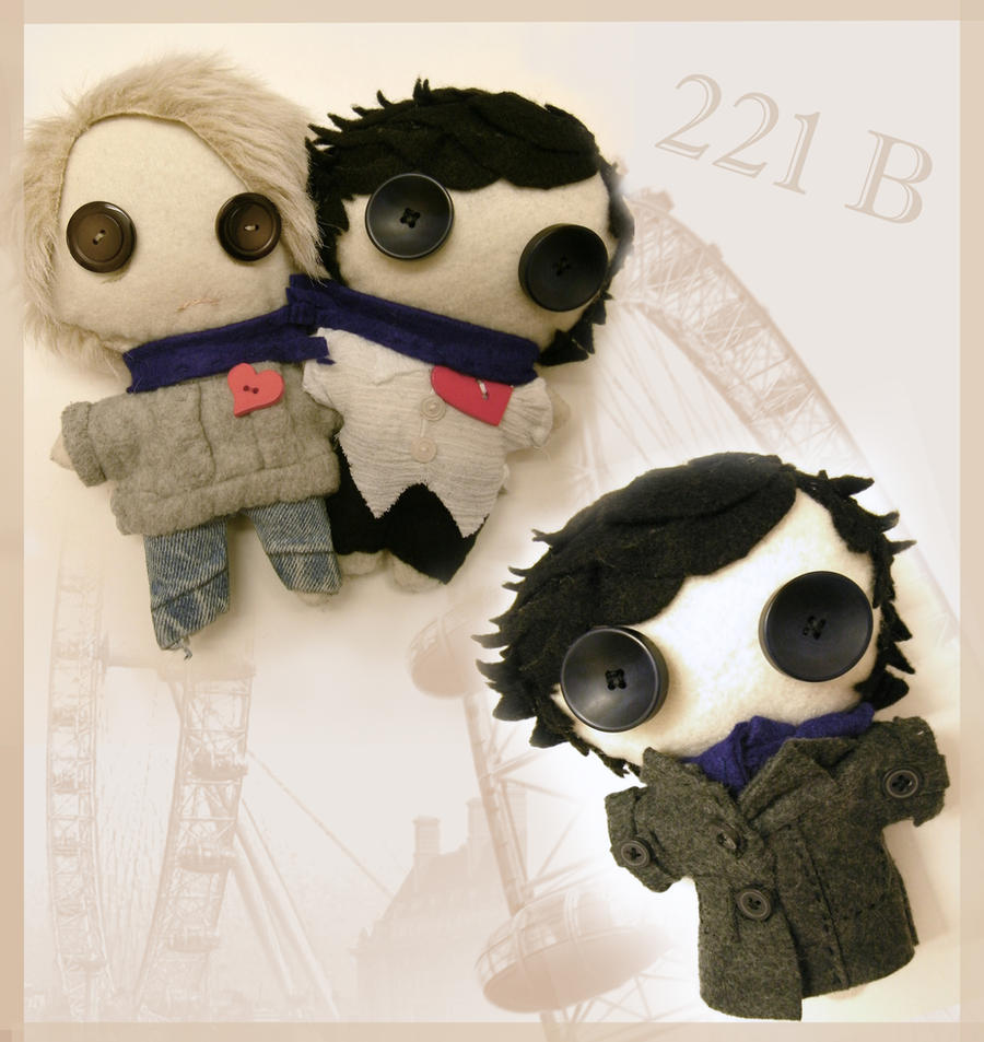 Sherlock The Plushy Detective by WonderlandOfThought