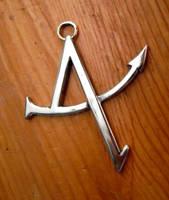 Antaeus logo pendant