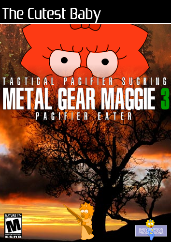 Metal Gear Maggie 3 by Gazmanafc