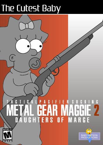 Metal Gear Maggie 2 by Gazmanafc