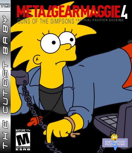 Metal Gear Maggie 4 by Gazmanafc