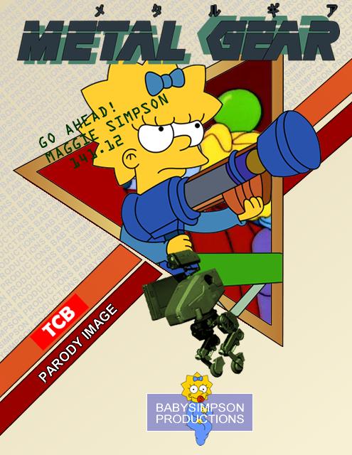 Metal Gear -Maggie- by Gazmanafc