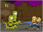 The Simpsons vs. Aliens