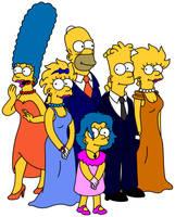 Simpsons Fantasy VI Formals by Gazmanafc