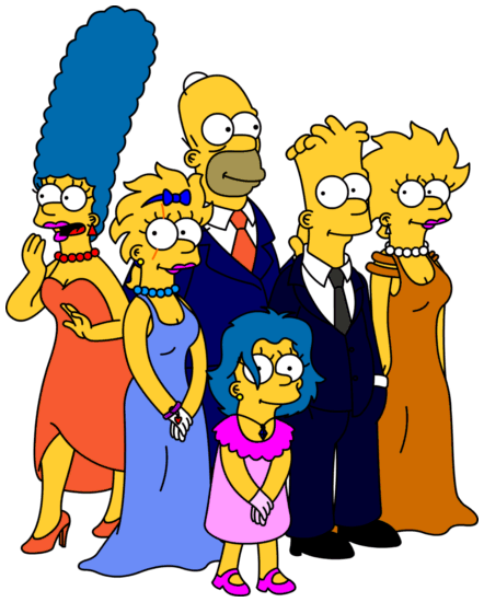 Simpsons Fantasy VI Formals by Gazmanafc