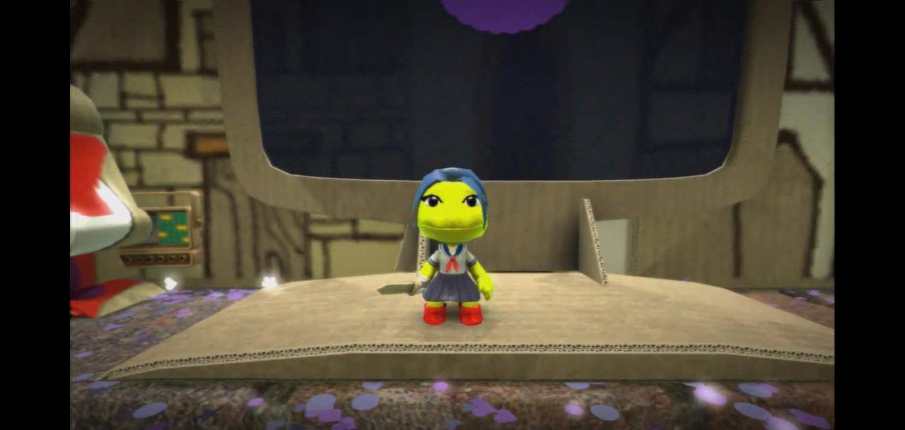 Lucy Simpson in LittleBigPlanet by Gazmanafc