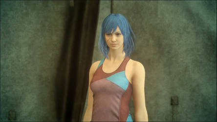 Lucy in Final Fantasy XV