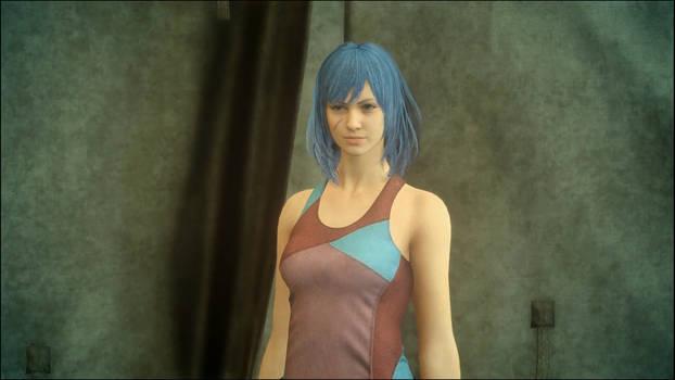 Lucy in Final Fantasy XV