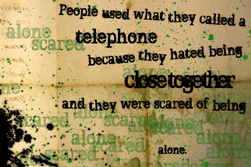 chuck palahniuk telephone quotes