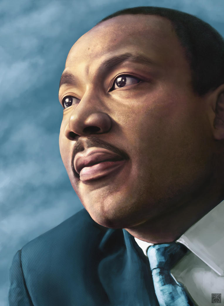 Martin Luther King, Jr. by iatemypencils on DeviantArt
