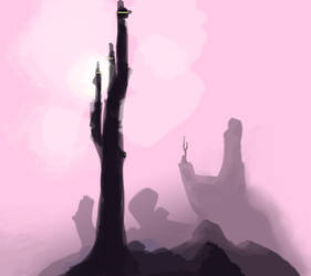 pink tower concept by Shalune31