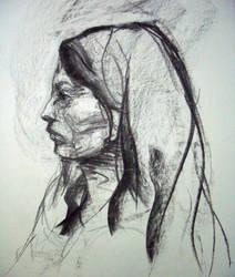 side portrait 2 by Shalune31