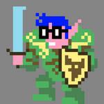 Elf Nerd Warrior