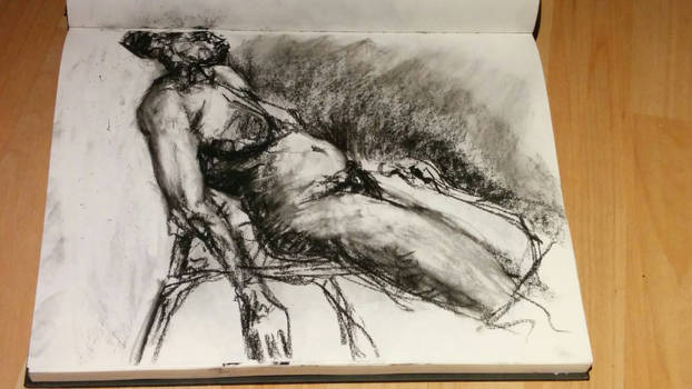 figure drawing from life by Shalune31