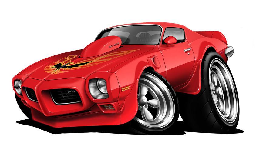 Car-Toon Pontiac Firebird by abyssinianz on DeviantArt