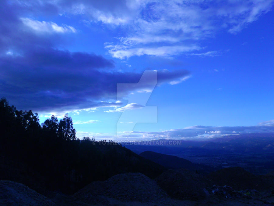 La Tarde Azul by toth2002